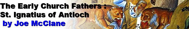 Banner image of St. Ignatius of Antioch